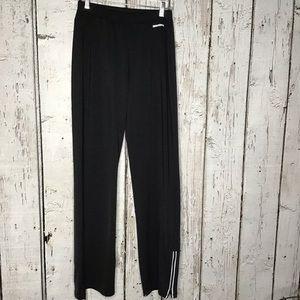 Brooks athletic zipper leg pants size Large